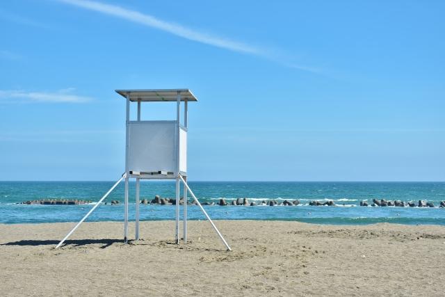 新型コロナウイルス感染予防対策のため「湘南ベルマーレひらつかビーチパーク」での海水浴場の開設はなくなりました