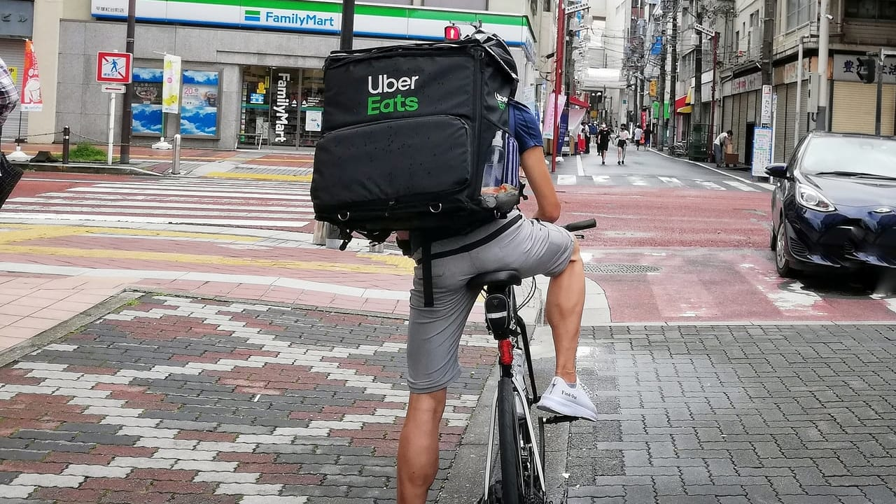 平塚市内でもUber Eatsでデリバリーできるお店が増えています!