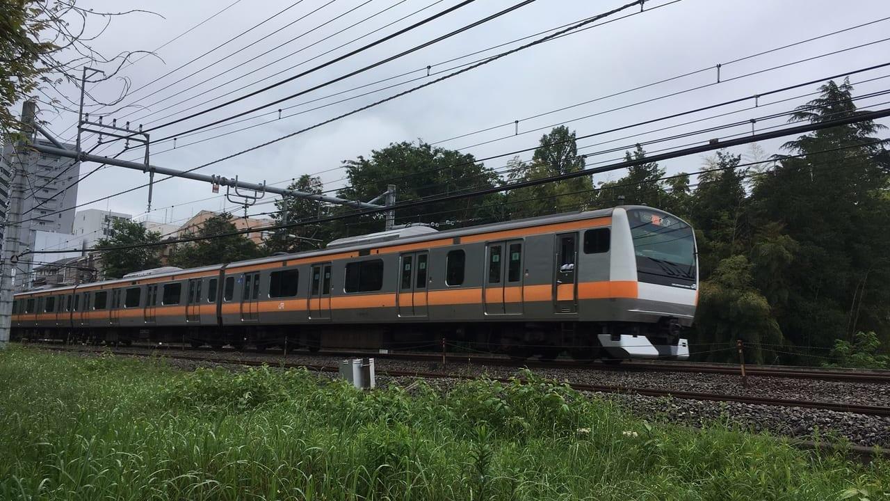 5月30日(土)、武蔵小金井駅での人身事故の影響で、中央線運転見合わせが出ています。