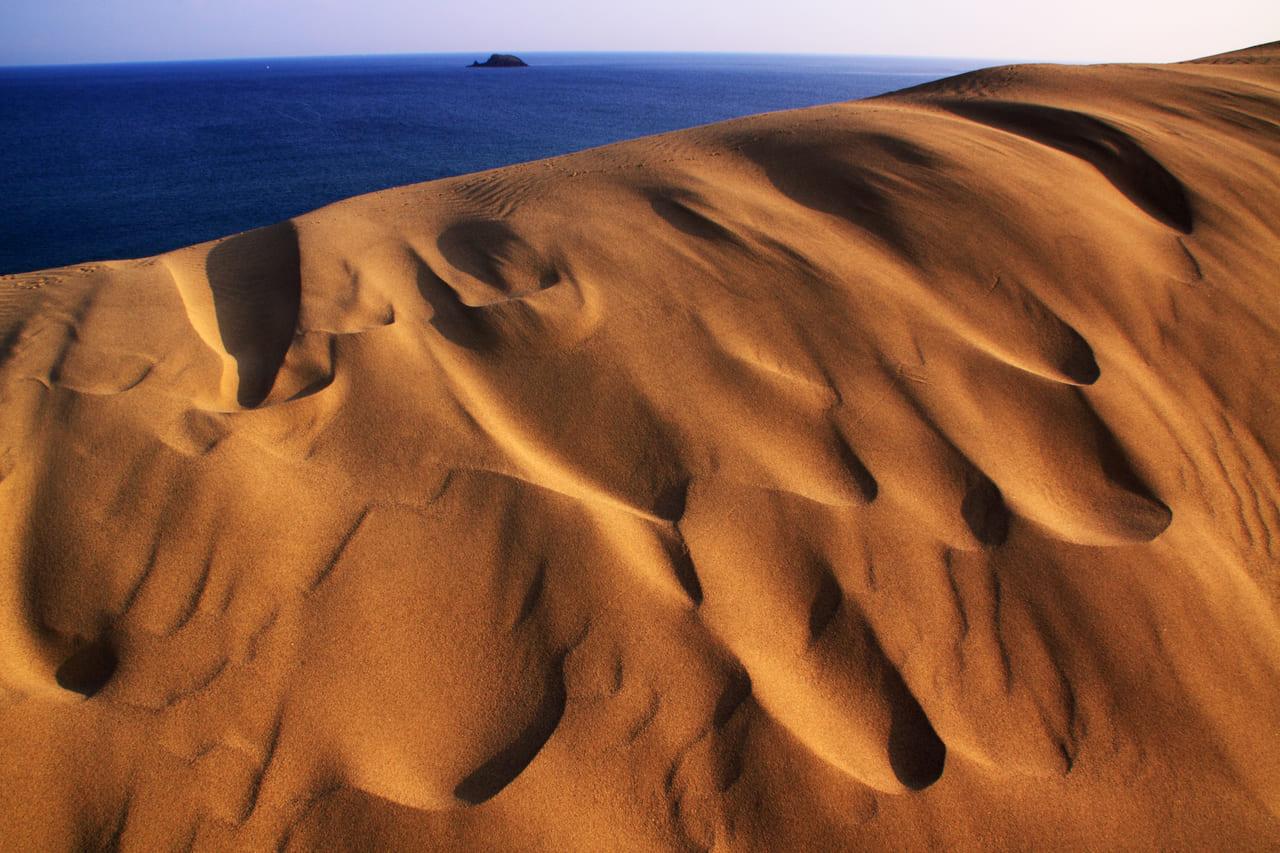 鳥取砂丘と海士島