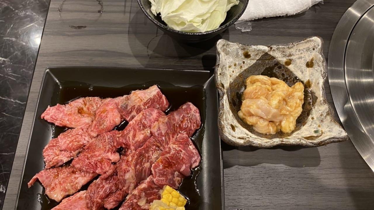 焼肉ふじきのお肉