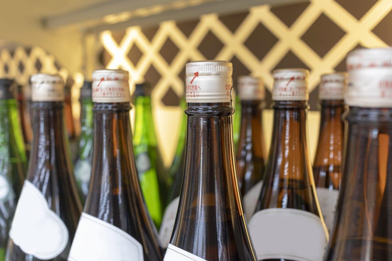 並んだ日本酒