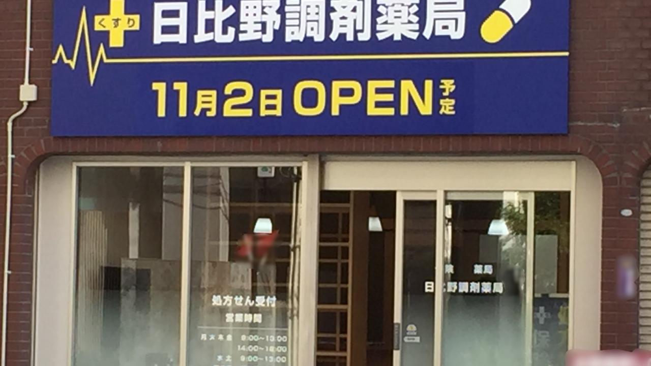 熱田区日比野調剤薬局オープン①
