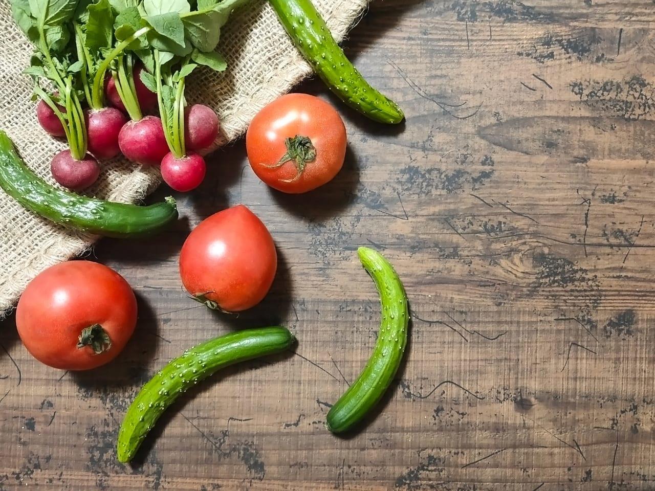 写真ACフリー素材「採れたて野菜のイメージ」