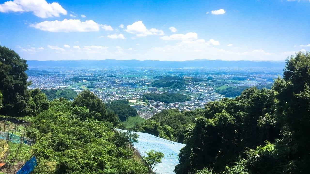 信貴山からの眺望