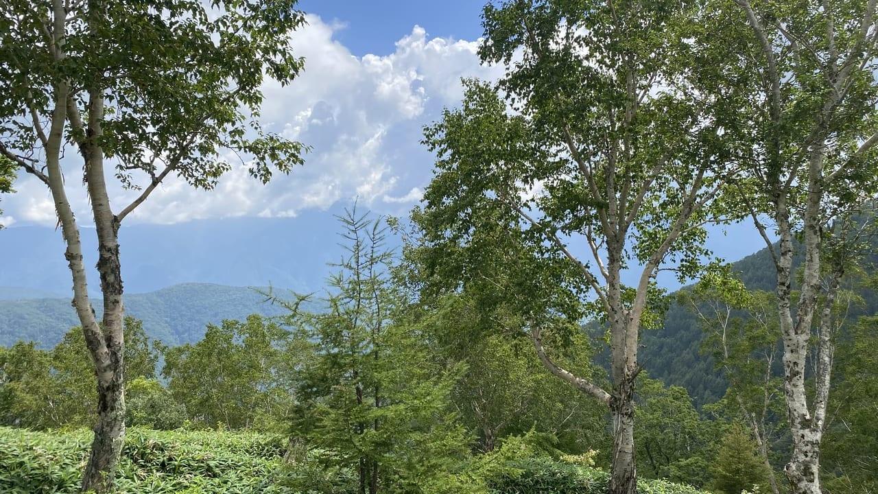 山々の景色