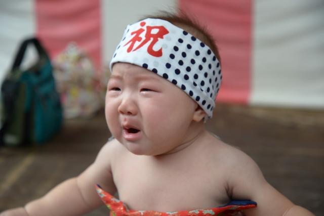 赤ちゃん泣き相撲