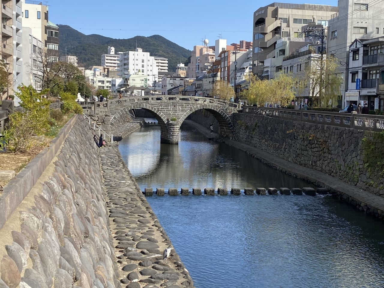長崎市の代表的な観光地 眼鏡橋