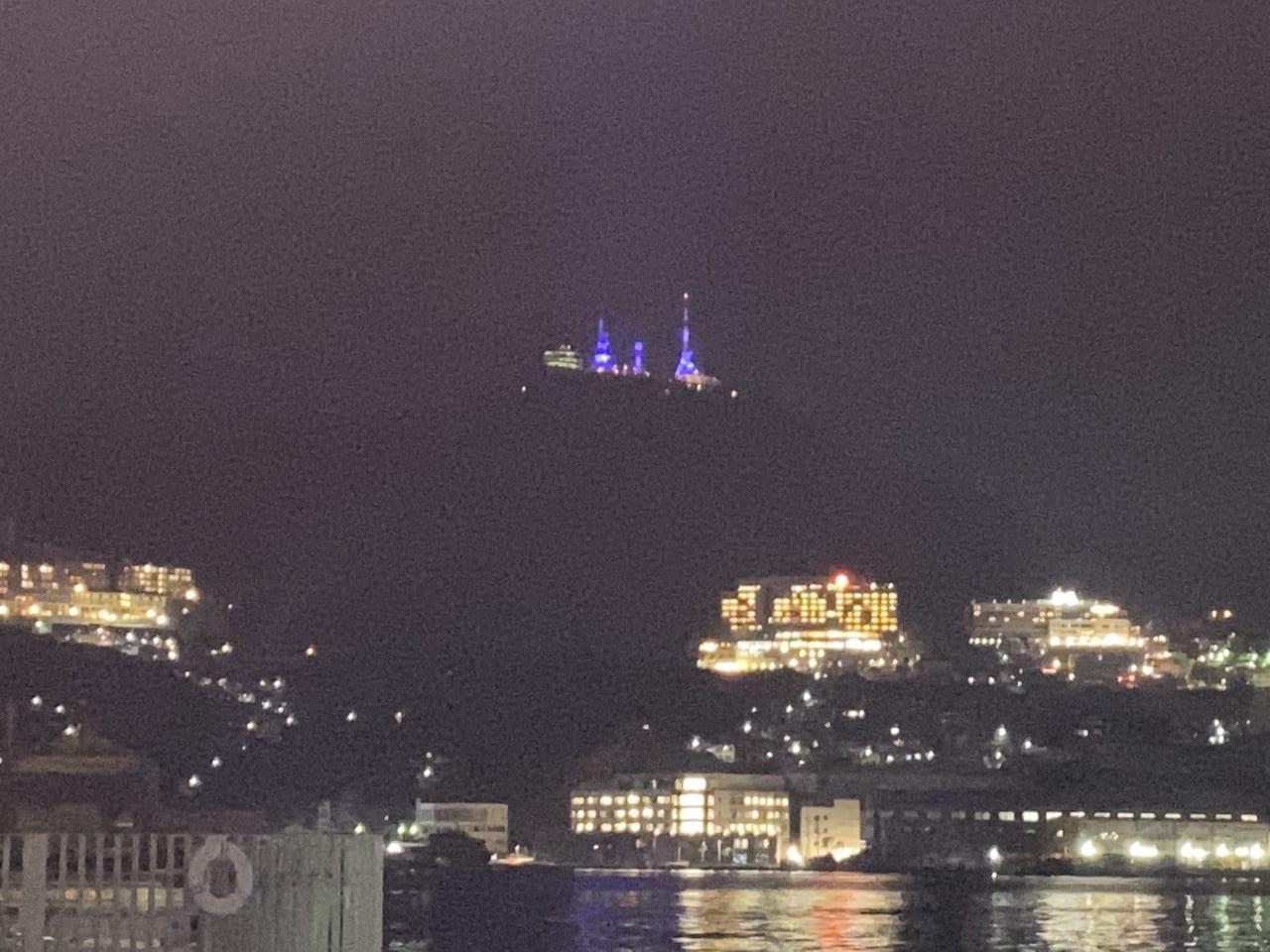 夜の稲佐山