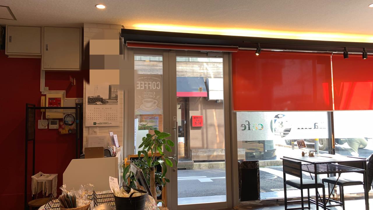 hachi 8 cafe 店内