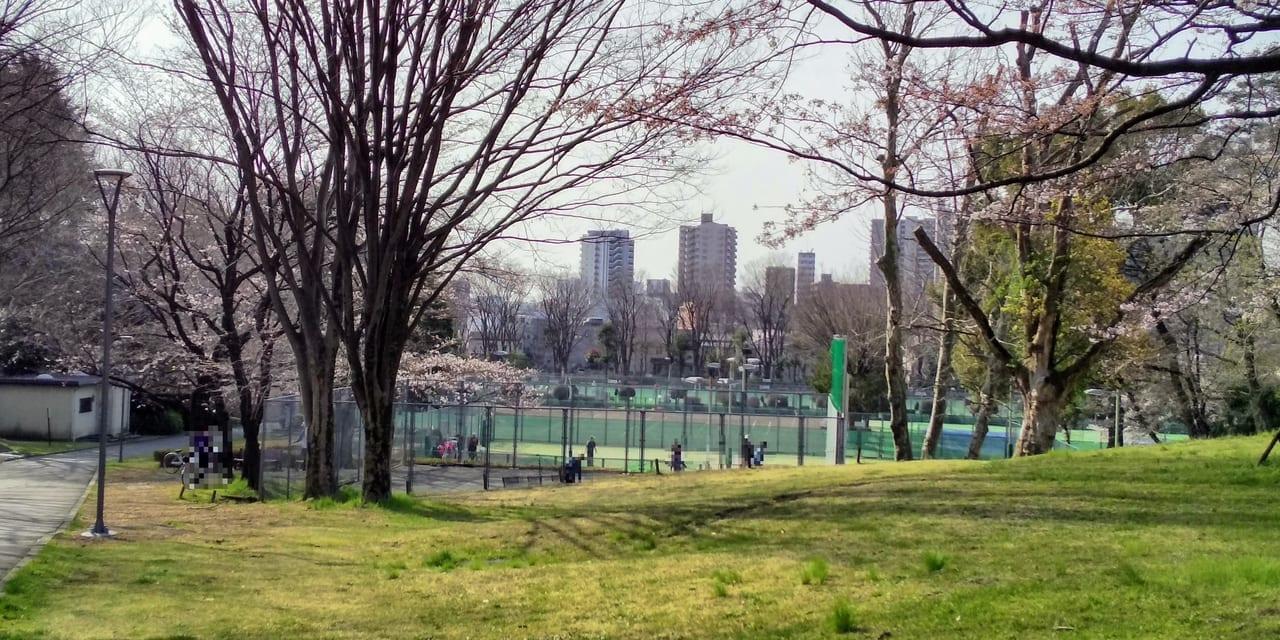 所沢航空記念公園テニスコート