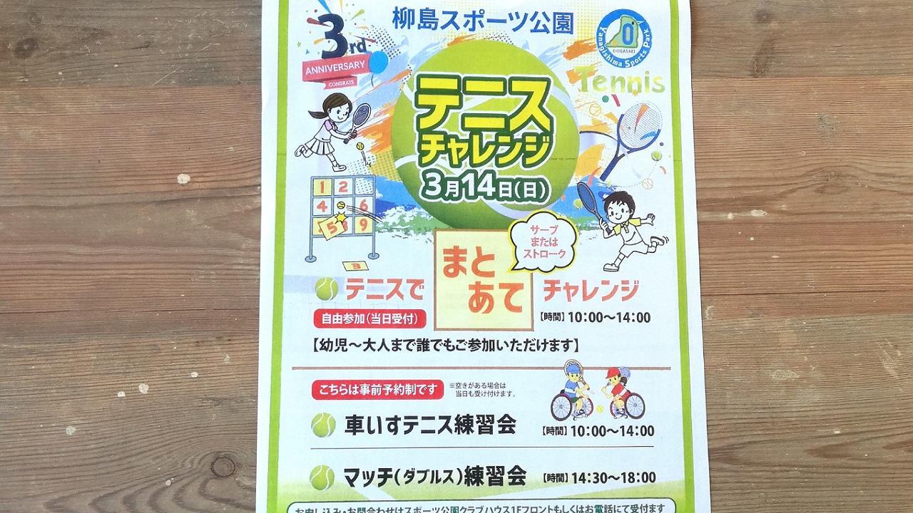 柳島テニスチャレンジ