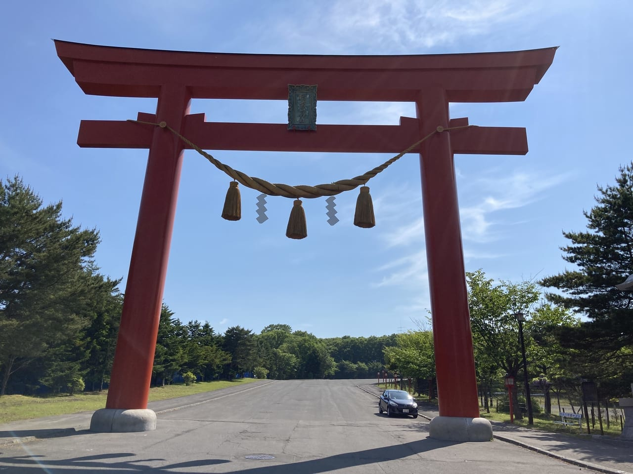 樽前山神社鳥居